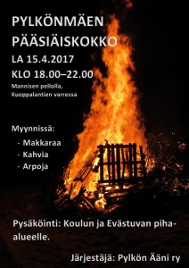 Pylkönmäen pääsiäiskokko 2017