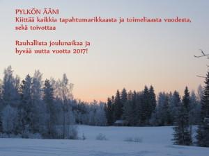 Pylkön Äänen joulutervehdys
