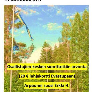 Pylkönmäki kuvasuunnistus (kilpailu), voittaja Erkki H.