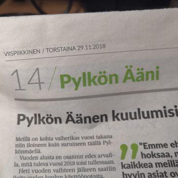 Pylkön Ääni 29.11.2018