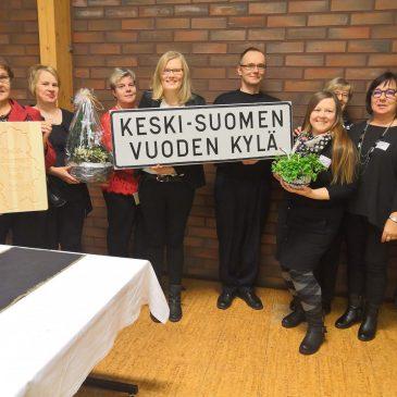 Pylkönmäki on Keski-Suomen Vuoden Kylä 2019